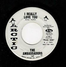 NORTHERN/PHILLY SOUL-AMBASSADORS-ARCTIC 147-I REALLY LOVE YOU/I CAN'T BELIEVE YO