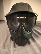 Jt Paintball Mask With Visor And Goggles Adult Black