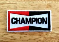 CHAMPION Logo Embroidered Iron On Patch Motorcycle Racing Biker