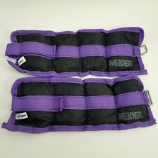 Ankle Wrist Arm Leg Weights Adjustable Strap Comfort 1 lb Pairs