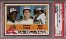 Tim Raines Expos HOF 1981 Topps #479 Baseball Rookie Card rC PSA 9 Mint QUANTITY