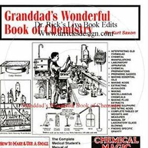 Granddad's Wonderful Book Of Chemistry Live Book Edit CD