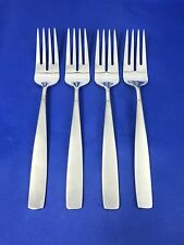 "Yamazaki BOLO Salad Dessert Forks 7 1/4"" Stainless Flatware Set of 4"