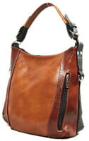 VENEZIA HANDMADE™  Genuine real leather Woman Shoulder Bag Handbag Tote Shopper