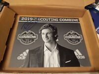 TREVOR ZEGRAS signed (ANAHEIM DUCKS) 2019 NHL DRAFT autographed Photo 8x10  #3