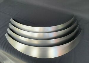 "Universal Metal Fender Flares Style 2: 2"" Wide, 4 total (hand-made)"