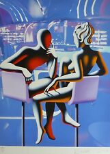 MARK KOSTABI Velvet everywhere Numbered 24/50 HAND SIGNED URBAN ART US ARTIST