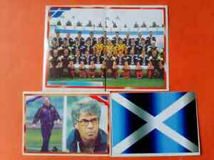 SCOTLAND TEAM ,FLAG AND COACH World Cup 98 BONART