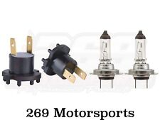 Low Beam Headlight Socket+H7 Bulb For 2001-2010 Mazda Protege Replaces B28V510A3