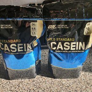 Optimum Nutrition Gold Standard Casein Protein Powder - Vanilla Flavoured