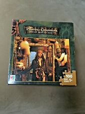 MB Puzzle 100 piece Disney Pirates of the Caribbean unopened 2006