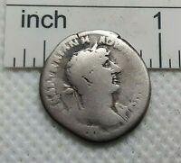 Original Ancient ROMAN SILVER COIN denarius Hadrianus imp.Hadrian 117-138 AD#237