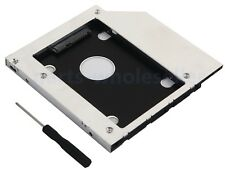 SATA 2nd 2.5 Disco Duro HDD SSD Caddy para DELL Latitude E5440 E5540 E6440 E6540