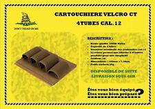 Cartouchière CT 4 tubes cal.12 tactique