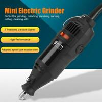 Cute 5-Speed Electric Drill Grinder Carving Polishing Grinding Cutting 220V Tool