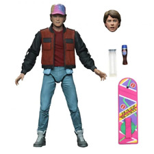 Back to the Future Ultimate Marty with Hoverboard 7 Inch Figure NEW