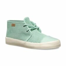 a173413061 VANS Rhea SF (Square Perf) Gossamer Green Suede Skate Boots Womens Size 8