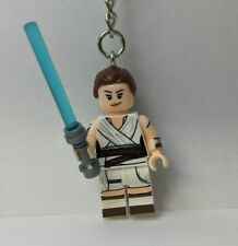 Rey Skywalker Star Wars Mini Figure Keychain Bag Clip Custom Made