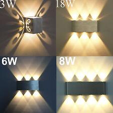 Design 3W-18W LED Wandlampe Wandleuchte Flurlampe Wandstrahler Badleuchte 2700K