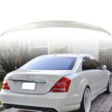 Stock in LA!Painted #960 Mercedes BENZ S-Class W221 4D A Trunk Spoiler White