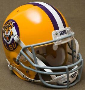 LSU TIGERS NCAA Schutt XP Full Size AUTHENTIC Gameday Football Helmet