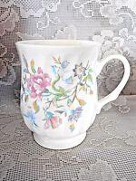 Collectible CROWN CERAMICS LTD Fine Bone China Floral Cup / Mug - Made in India