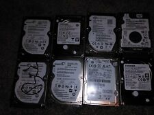 "LOT OF 8 | Mixed - 500GB- 2.5"" SATA - Laptop Hard Disk Drives - HDD"