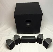 JBL Surround Speakers 6 Piece incl. Subwoofer, Center & 4 Satellite Speakers