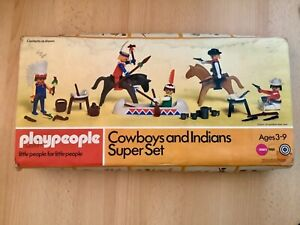 Play people cowboys and Indians super set
