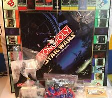 Monopoly Star Wars Classic Trilogy Edition Star Wars Monopoly pewter tokens