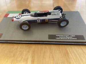 Formula 1 The Car Collection Ferrari 512-F1 as Driven by Lorenzo Bandini Item 46