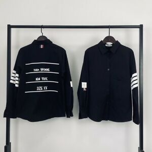 Thom-Browne Shirt Long Sleeve Shirt coat M-XL