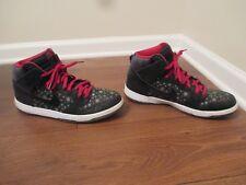 Used Worn Size 14 Nike Dunk Hi Premium SB Paparazzi Shoes Black Gray White Red