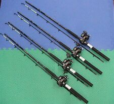Okuma 7' Line Counter Trolling Combo Chartreuse Tip 4 PACK CPLC70CT / MA20D