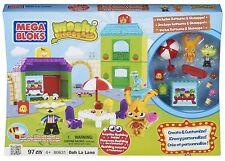 Moshi Monsters Mega Bloks Set 80631 Ooh La Lane 97 pieces  SHIPS FREE NEW