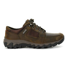 Rockport Men's Cold Springs Plus Lace To Toe Dark Brown Shoes V80889 NEW
