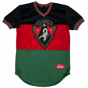 Hudson Outerwear Cartel Chapo Scorpion Mens Colorblock Jersey Shirt Medium M