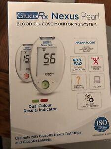 GlucoRx Nexus Blood Glucose Meter with Test Strips