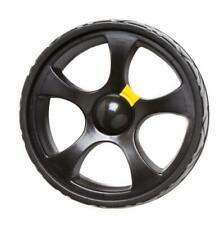 Sports Wheels For Powakaddy Electric Golf Trolley 1x Pair (Black)