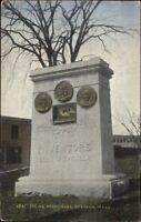 Spencer MA Howe Monument c1910 Postcard