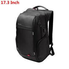 15/17 Inch Men Notebook Waterproof Nylon Laptop Backpack USB Charge Computer Bag