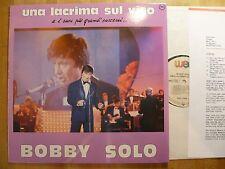LP, Bobby Solo, Una Lacrima Sul Viso, Presseinfo, Neuzustand, Mint !