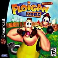 FLOIGAN BROS BROTHERS SEGA DREAMCAST GAME *NEW* AUS EXPRESS