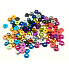 10PCS M3 3mm Alloy Aluminium Countersunk Washer Head Bolt Gasket for RC Model