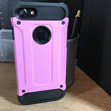ORIGINALE Apple iPhone 7 caso ibrido TECH UK SCI-FI robusto Stealth Star Rosa