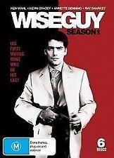 WISEGUY: SEASON-1 (DVD, 6-DISC SET) R-4, LIKE NEW, FREE POST IN AUSTRALIA