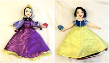 Evil Queen Snow White Topsy Turvy Plush Doll Disneyland Disney World RARE HTF