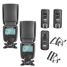 Kit de NW-561 Speedlite Flash con Pantalla LCD para Cámaras DSLR Canon Nikon