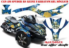 Amr racing décor Graphic Kit ATV Can-Am spyder rs, rt, rt-s, f3 Iron Maiden lad B