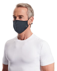 Tommie Copper Face Masks Covering - Unisex 2-Pack Adjustable & Moisture Wicking